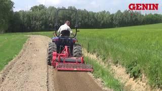 Download GENIN HORTICOLE - Tracteur + enfouisseur Video