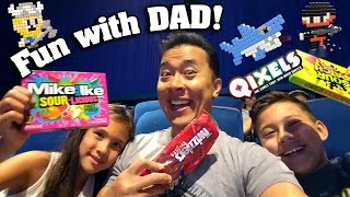 Download QIXELS CRAFTING!! WEEKEND with DAD! Video
