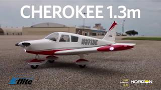 Download E-flite Cherokee 1.3m PNP and BNF Basic with AS3X and SAFE Select Video