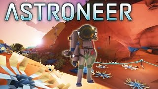 Download Astroneer - Bye, No Man's Sky - Total Freedom, Base Building, Cave Exploration! - Gameplay Part 1 Video