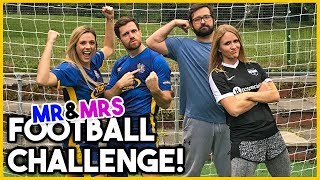 Download MR & MRS FOOTBALL CHALLENGE W/FOOBIE! Video