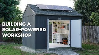 Download Building a Solar Powered Workshop Video