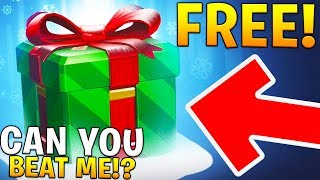 Download 5 FREE CHRISTMAS LOOT BOXES IF YOU BEAT ME! (Overwatch) Video