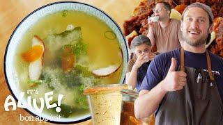 Download Brad Makes Garlic Miso | It's Alive | Bon Appétit Video