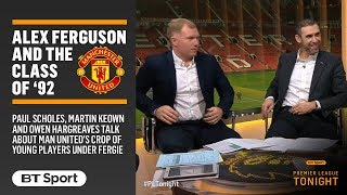 Download Fascinating discussion with Paul Scholes about Sir Alex Ferguson and the Class of '92 Video