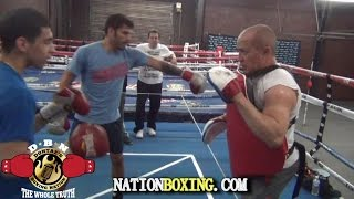 Download (TECHNIQUES) HOW TO PUNCH WITH FULL POWER. TRAINER ISAMAEL SALAS & JORGE LINARES DEMONSTRATES Video