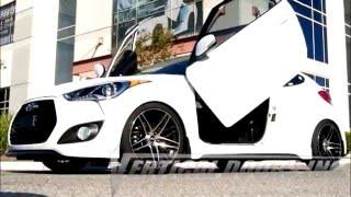 Download Hyundai Veloster 1st Gen lambo doors by Vertical Doors Inc Video