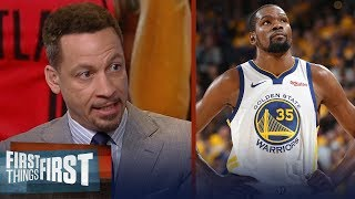 Download Chris Broussard: 'Even without KD, the Warriors can win this title' | NBA | FIRST THINGS FIRST Video