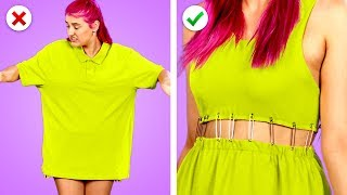 Download Transform It! 11 Smart DIY Clothing And Fashion Hack Ideas Video