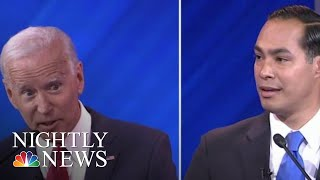 Download Castro Appears To Take A Shot At Biden's Age During Heated Exchange At Debate | NBC Nightly News Video