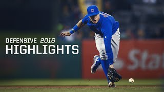 Download MLB Javier Baez Defensive Highlights 2016 Season - Chicago Cubs Video