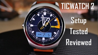 Download Ticwatch 2 Extensive Review - Worth the Money & Hype? Video