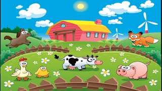 Download Farm Animal 2 activity and song for children full Educational video for babies and toddlers Video