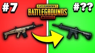 Download EVERY GUN IN PUBG MOBILE RANKED FROM WORST TO BEST 2019! (Rifles) Video