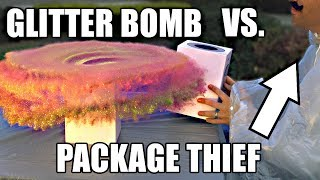 Download Package Thief vs. Glitter Bomb Trap Video