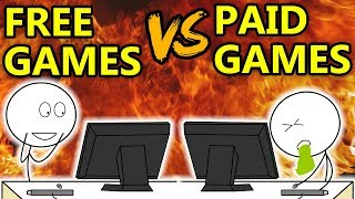 Download Free Games VS Paid Games Video