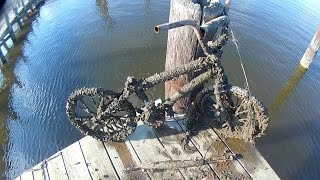 Download Magnet Fishing Local Pier Bicycles Mic Stand Rifle Oh My? And Another Magnet!?! Video