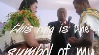 Download Asenaca Ciriduadua wedding (Baba) n Waisake Raiubi (Fiji) Video