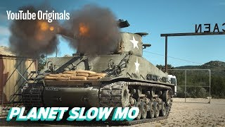 Download WWII Tanks Firing in Slow Motion Video