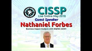 Download CISSP 2018: Nathaniel Forbes on Business Impact Analysis with host Larry Greenblatt Video
