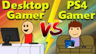 Download Desktop Gamer Vs Ps4 Gamer Video