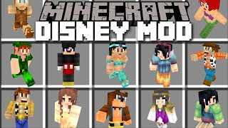 Download Minecraft DISNEY MOD / HELP THEM HIDE FROM ANDY IN TOY STORY!! Minecraft Video