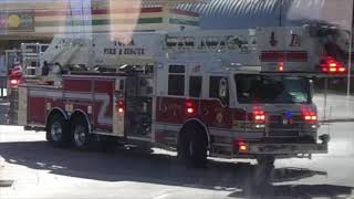 Download *BRAND NEW EXCLUSIVE!!!* Tulsa Fire Department Ladder 4 Responding!!! Video