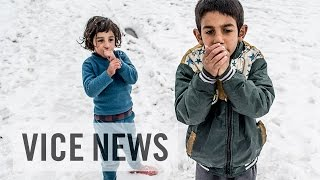 Download Freezing and Fighting for Aid: Syrian Refugees in Lebanon Video