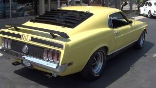 Download 1970 Ford Mustang Mach 1 $38,900.00 Video