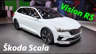 Download New Škoda Vision RS is Škoda Scala -soon to replace the Rapid Video