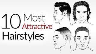 Download 10 Most ATTRACTIVE Men's Hair Styles | Top Male Hairstyles 2017 | Attraction & A Man's Hair Style Video