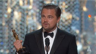 Download Leonardo DiCaprio winning Best Actor Video