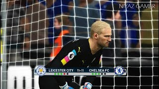 Download LEICESTER CITY vs CHELSEA FC | Penalty Shootout | PES 2017 Gameplay Video
