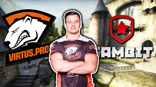 Download CO TEN PASHA!? Virtus.pro vs Gambit Gaming Video