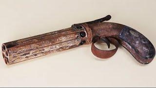 Download Rusty Vintage Pepperbox - Restoration Video