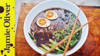 Download Chicken Ramen Noodle Soup | Food Busker Video
