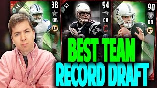 Download BEST TEAM RECORD DRAFT!! MADDEN 17 DRAFT CHAMPIONS Video