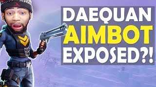 Download DAEQUAN AIMBOT EXPOSED?! | CRAZY AIM | HIGH KILL FUNNY GAME - (Fortnite Battle Royale) Video