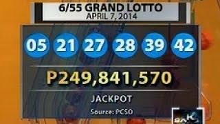 Download Umano'y hokus pokus sa Grand Lotto 6/55 draw noong Lunes, kumakalat sa internet Video