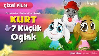 Download Kurt ve 7 Küçük Oğlak çizgi film masal 20 - Adisebaba Çizgi Film Masallar Video