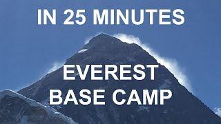 Download Everest Base Camp Trek in 25 minutes. April 2016 Video