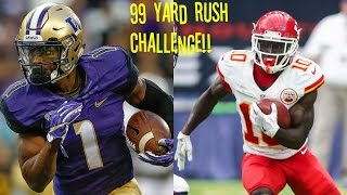 Download JOHN ROSS VS TYREEK HILL WHO CAN GET A 99YD RUSH FIRST?!? WHO'S FASTER?!? Video