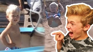 Download REACTING TO MY BABY VIDEOS! Video