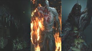 Download Resident Evil 2 Remake - All Boss Fights & Ending (RE2 Remake 2019) PS4 Pro Video