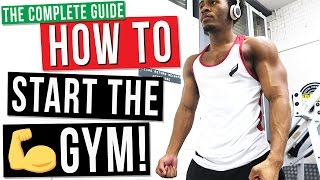 Download The Complete Beginners Guide To How to Start The Gym For The First Time! Video