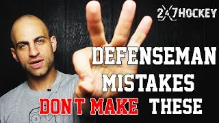 Download Top 3 Mistakes Defenseman Should NEVER Make in a Hockey Game Video