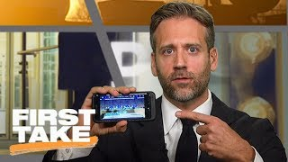 Download Max calls out Roger Goodell for 'violating U.S. flag code' on Twitter account | First Take | ESPN Video
