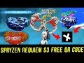 Download SPRYZEN REQUIEM S3 QR CODE! CYPRUS COLLAB! BEYBLADE BURST EVOLUTION APP Video