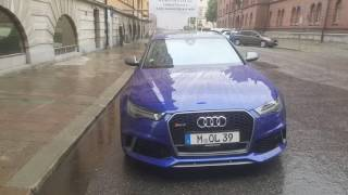 Download Audi Exclusive RS6 Performance in Stockholm, Sweden. Name of colour is? Video