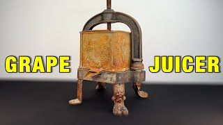 Download GRAPE JUICER WITH LION LEGS - RESTORATION (with test) Video